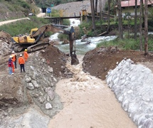 Execution of phase I works on the construction of HPP Chancay and Rucuy, Peru